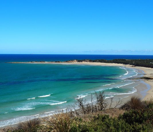 You could be here this weekend! A Great Ocean Road 2 day Weekend Away - The view of Point Roadknight from the Anglesea Lookout by See Something New