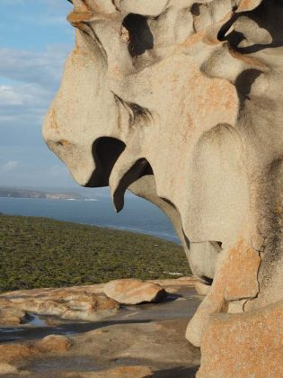A small portion of the 360 degree view from the Remarkable Rocks