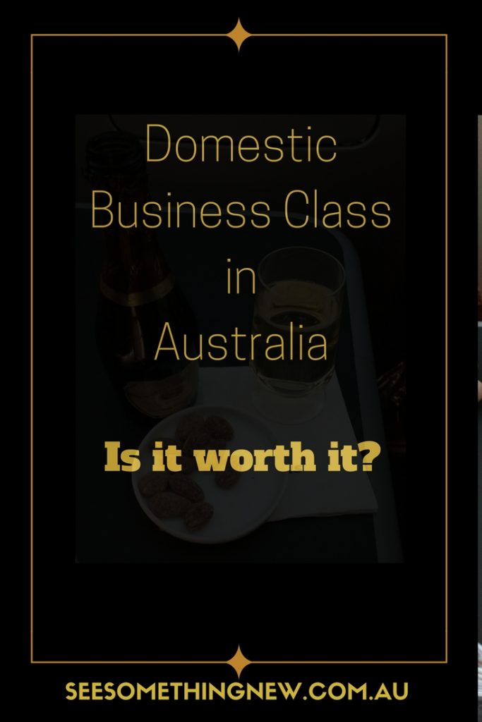 A review of flying Domestic Business class with Qantas