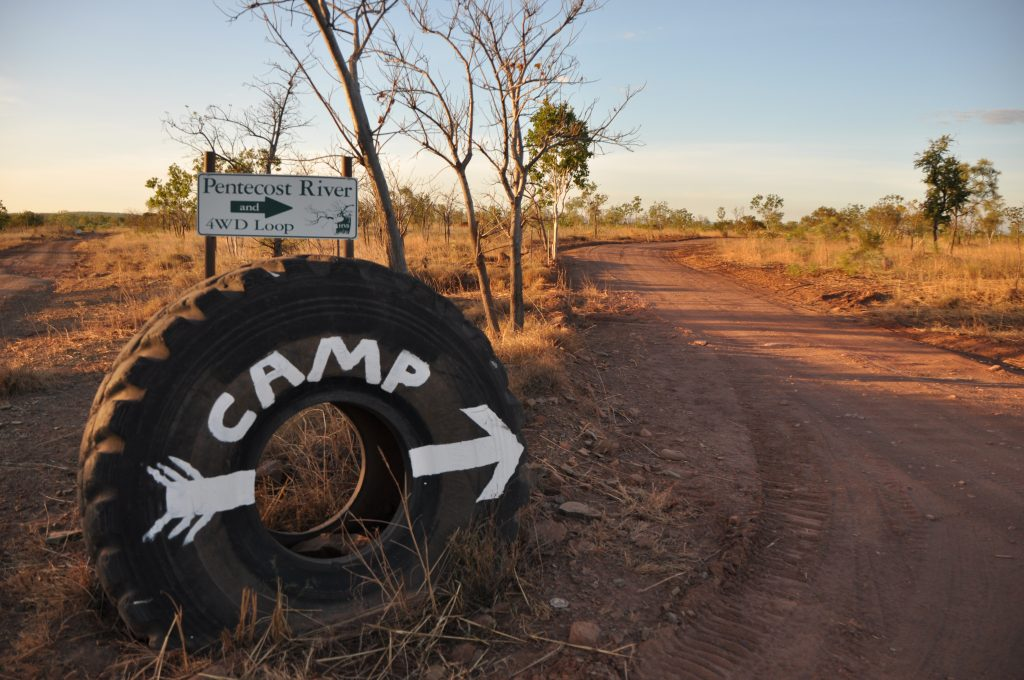 Getting to the Pentacost River Campground is half the fun at Home Valley Station on the Gibb River Road