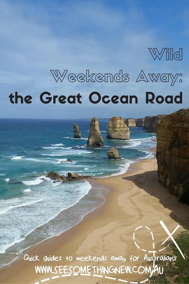 The view of the 12 Apostles is a highlight of a road trip or weekend away on the Great Ocean Road