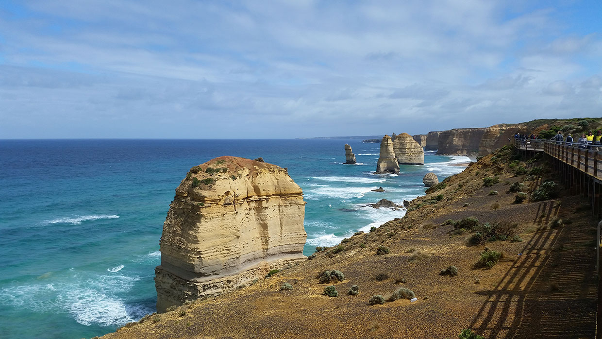 The famous 12 Apostles are a highlight of the Great Ocean Road Drive