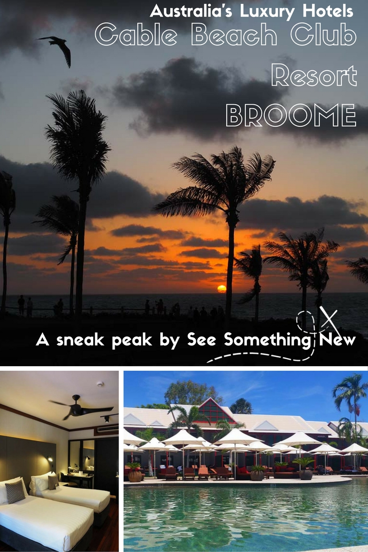 A sneak peak into the Luxury Cable Beach Club Resort & Spa