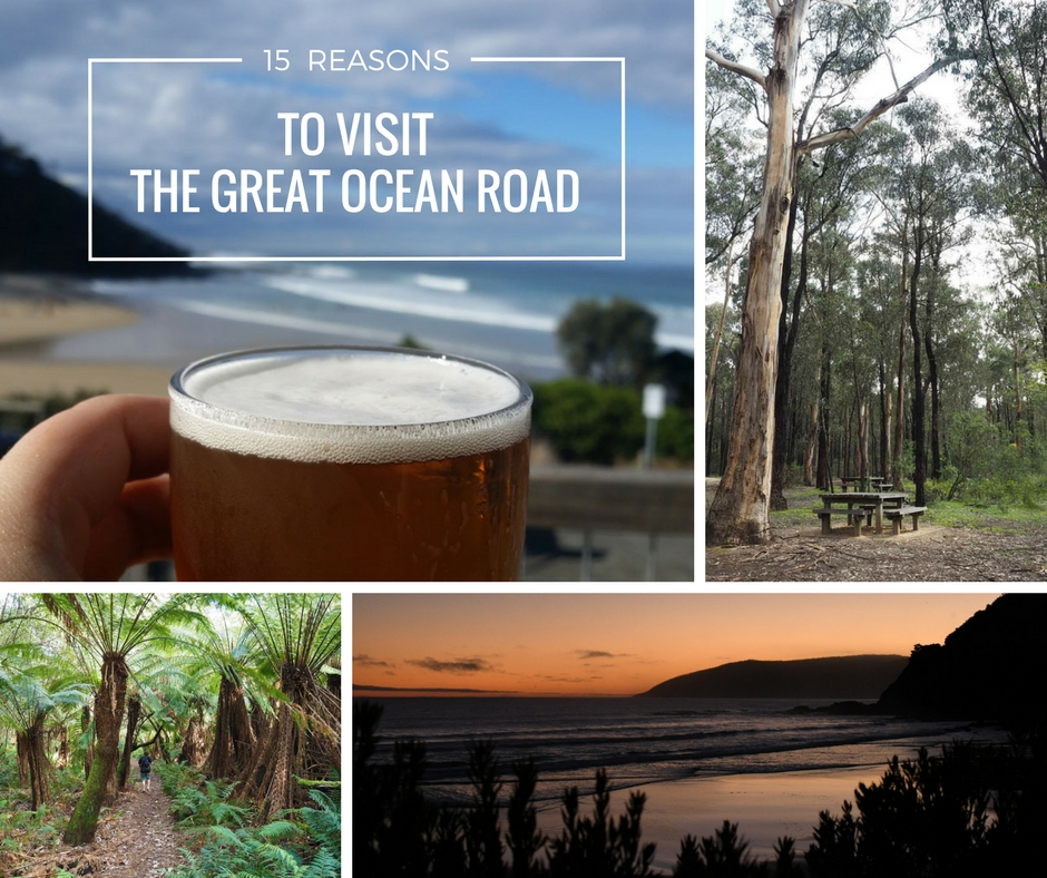 15 REASONS TO VISIT THE GREAT OCEAN ROAD